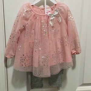 Baby Girl tulle top and pants